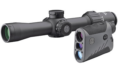 Sig Sauer KILOBDX Rangefinder and SIERRA3BDX Rifle Scope Combo