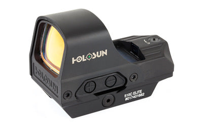 Holosun HE510CGR 2 MOA Dot/65 MOA Ring Dot/Ring Green Black