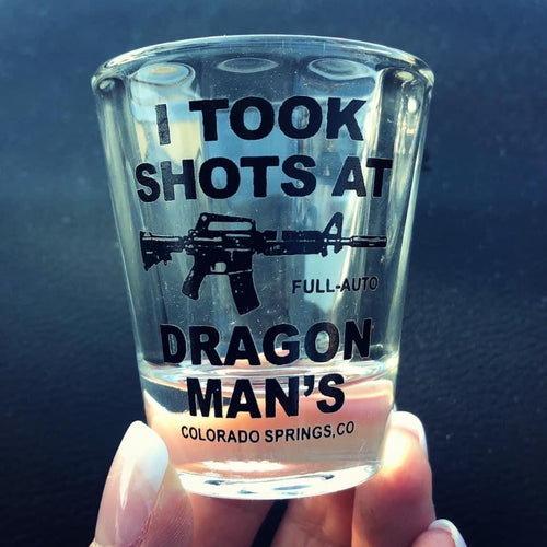 Dragonman's Shot Glass