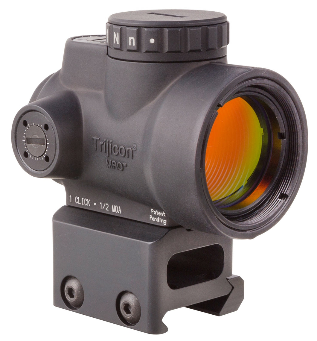 Trijicon MRO with Co-Witness Mount 1x 25mm Obj 2 MOA Green Dot