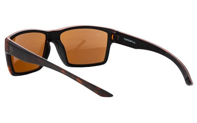 Magpul Industries Explorer Glasses, Tortoise Frame, Bronze/Blue Lenses, Polarized