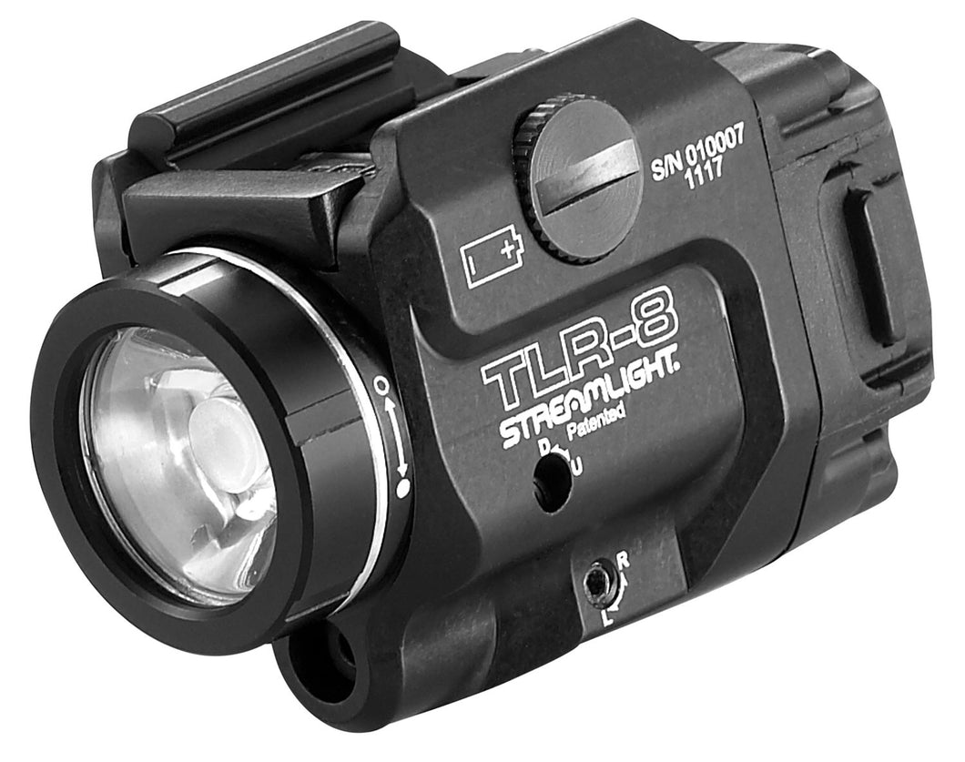 Streamlight TLR-8 Weapon Light with Red Laser 500 Lumens