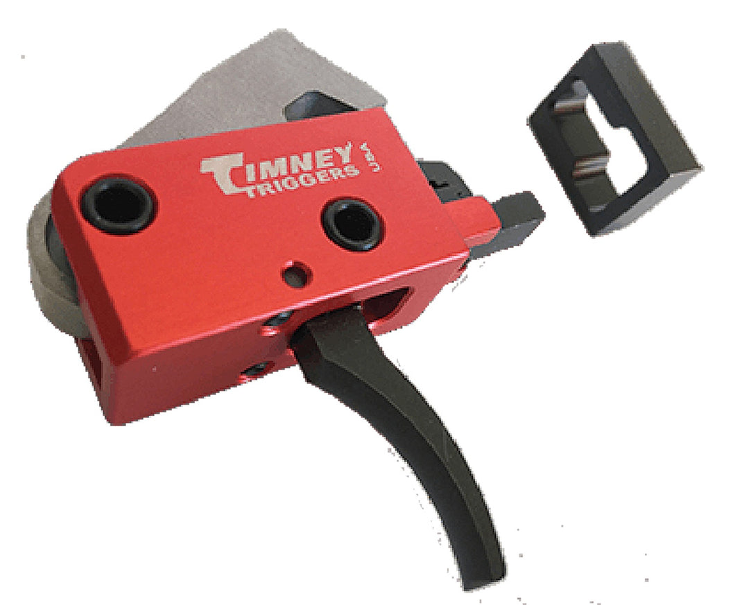 Timney Triggers AR PCC Curved Two-Stage Trigger 2 lbs