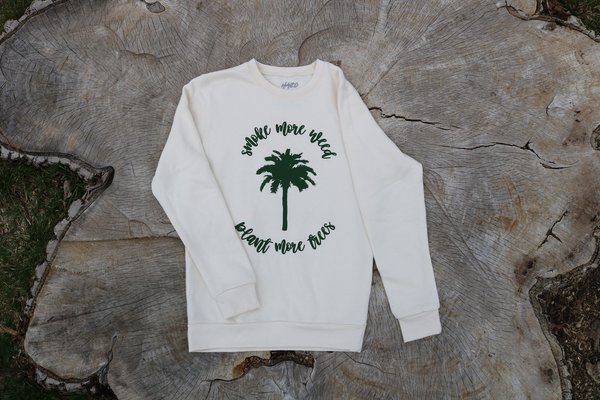 "HAZO ""Smoke More"" Crewneck"