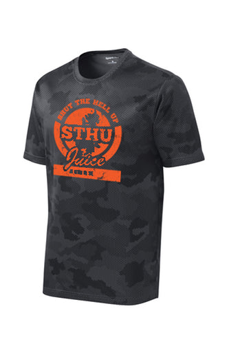 STHU Juice Drifit Camo  TShirt  - Black (Explicit Version)