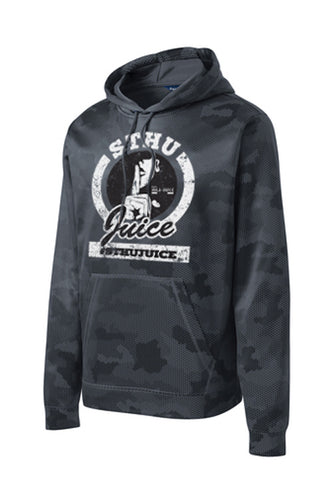 STHU Juice Drifit Camo Hoodie - Black (Clean Version)