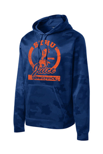 STHU Juice Drifit Camo Hoodie - Blue (Clean Version)