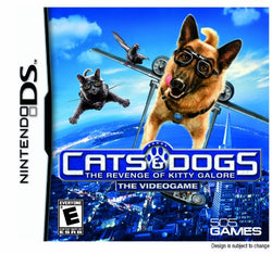 Cats & Dogs: The Revenge of Kitty Galore - Nintendo DS (Game Only)