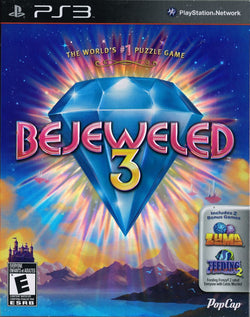 Bejeweled 3 - Playstation 3 (Complete In Box)