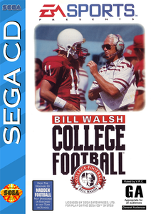 Bill Walsh College Football - Sega CD (Complete In Box)