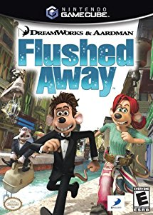 Flushed Away - Gamecube (Complete in Box)