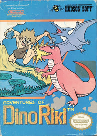 Adventures of Dino Riki - NES (Game Only)