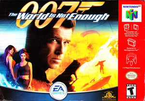 007 World Is Not Enough - Nintendo 64 (Game Only, Worn Label)