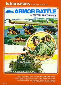 Armor Battle - Intellivision (Complete in Box)