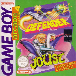 Arcade Classic 4: Defender and Joust - GameBoy (Game Only)