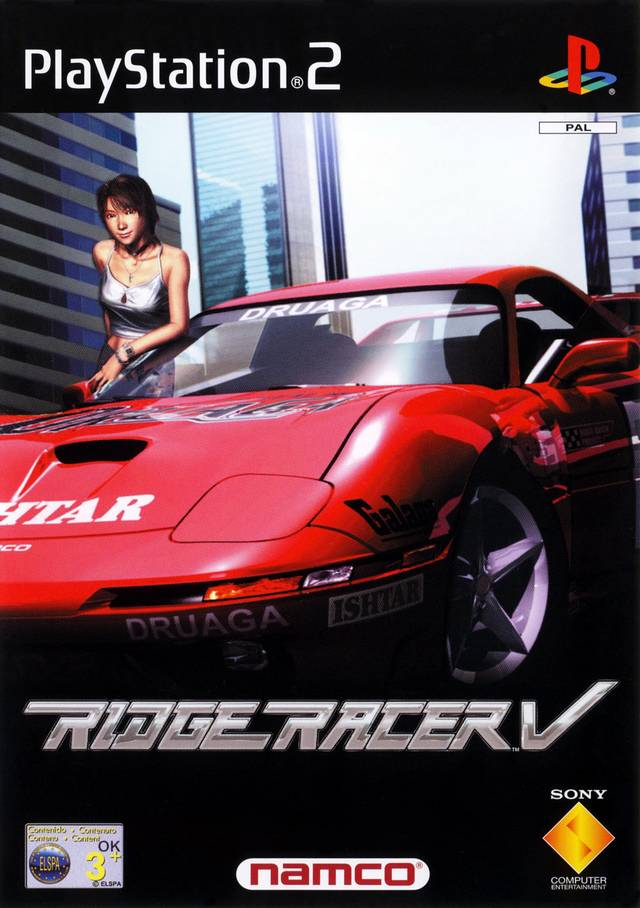 Ridge Racer V - Playstation 2 (Complete in Box)