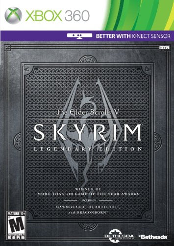 Elder Scrolls V: Skyrim Legendary Edition - Xbox 360 (Complete in Box)