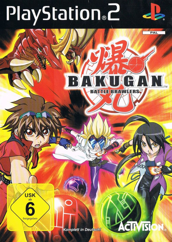 Bakugan Battle Brawlers - Playstation 2 (Complete in Box)