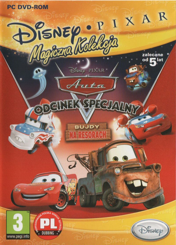 Cars Toon: Mater's Tall Tales - Wii (Complete in Box)
