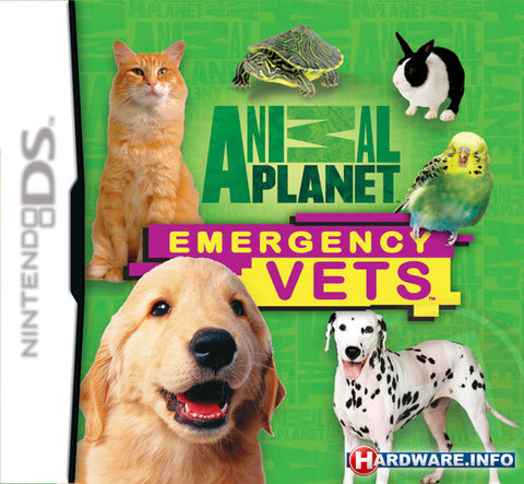 Animal Planet: Emergency Vets - Nintendo DS (Game Only)