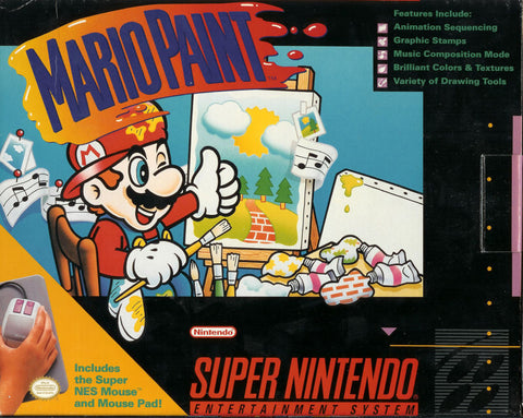 Mario Paint - Super Nintendo (Cart Only)