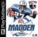 Madden 2001 - Playstation (Complete in Box)
