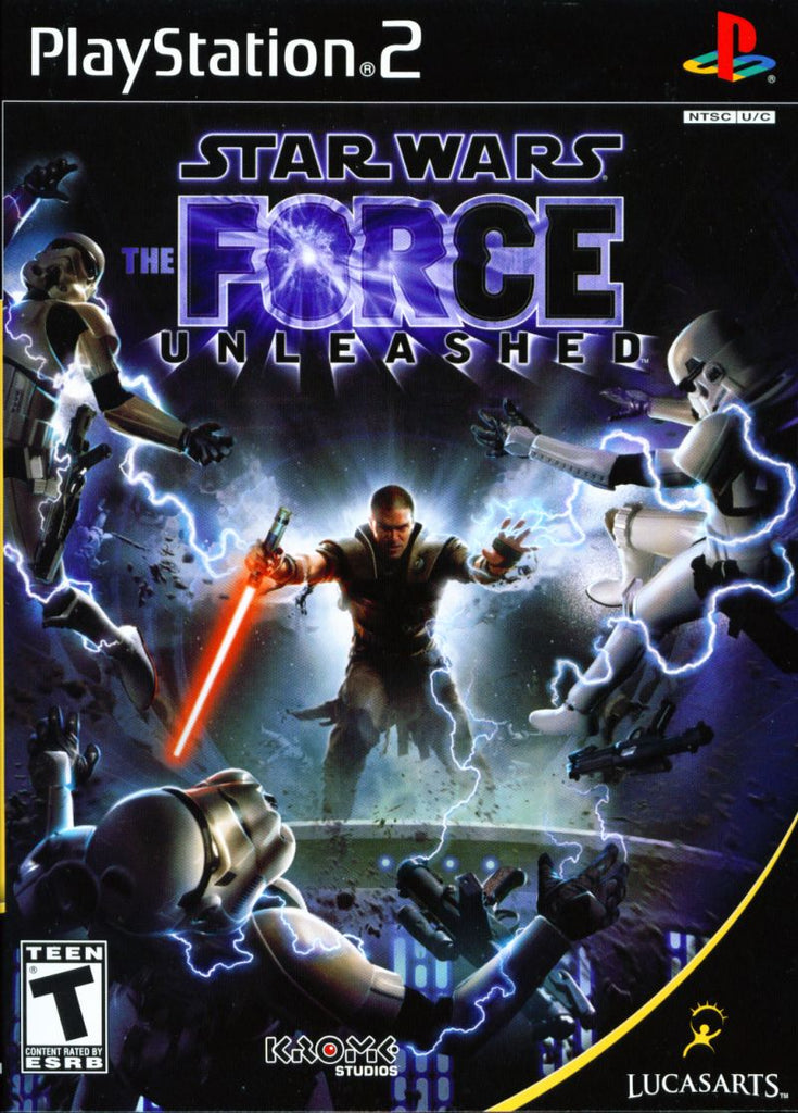 Star Wars The Force Unleashed - Playstation 2 (Complete In Box)