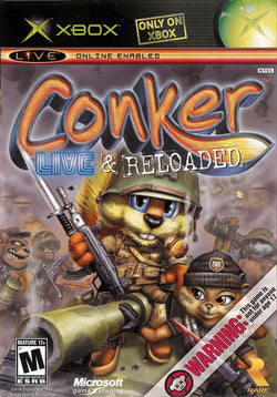 Conker Live and Reloaded - Xbox (Complete In Box)