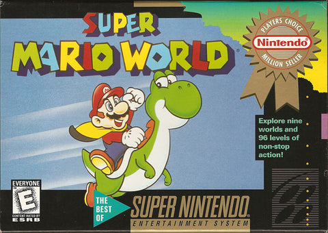 Super Mario World - Super Nintendo (Game Only)
