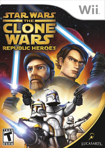 Star Wars Clone Wars: Republic Heroes - Wii (Complete In Box)
