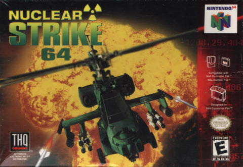 Nuclear Strike - Nintendo 64 (Game Only)
