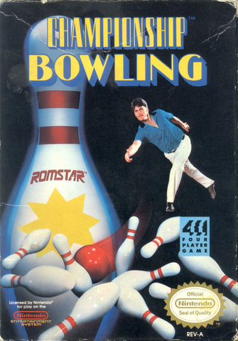 Championship Bowling - NES (Game Only)