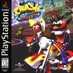 Crash Bandicoot Warped - Playstation (Game Only)