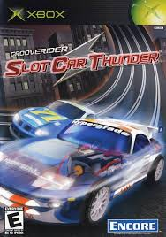Grooverider Slot Car Thunder - Xbox (Complete In Box)