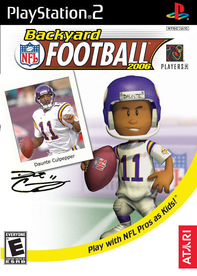 Backyard Football - Playstation 2 (Complete In Box)
