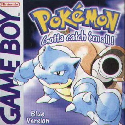 Pokemon Blue - GameBoy (Game Only)