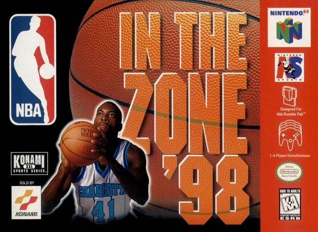 NBA In the Zone '98 - Nintendo 64 (Complete In Box)