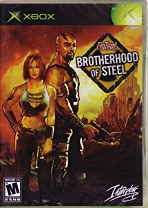 Fallout Brotherhood of Steel - Xbox (Complete In Box)