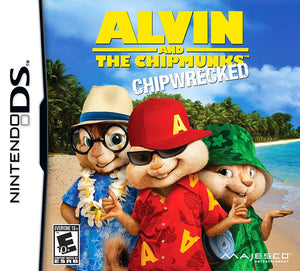 Alvin & Chipmunks: Chipwrecked - Nintendo DS (Game Only)