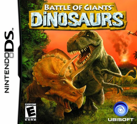 Battle of Giants: Dinosaurs - Nintendo DS (Game Only)