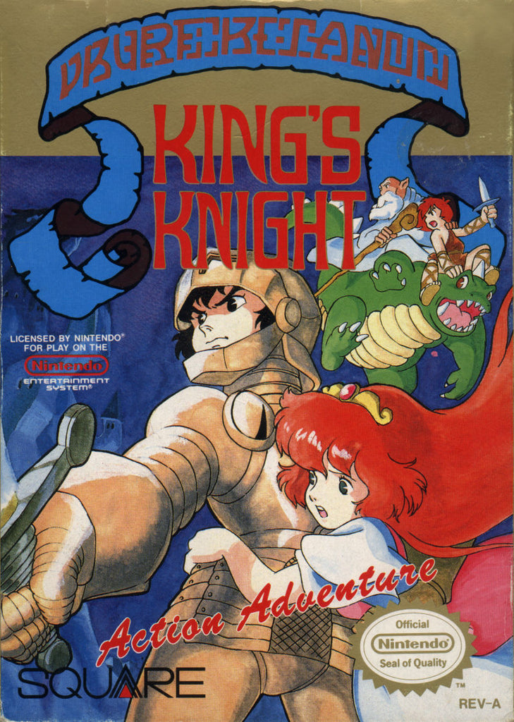 King's Knight - NES (Game Only)
