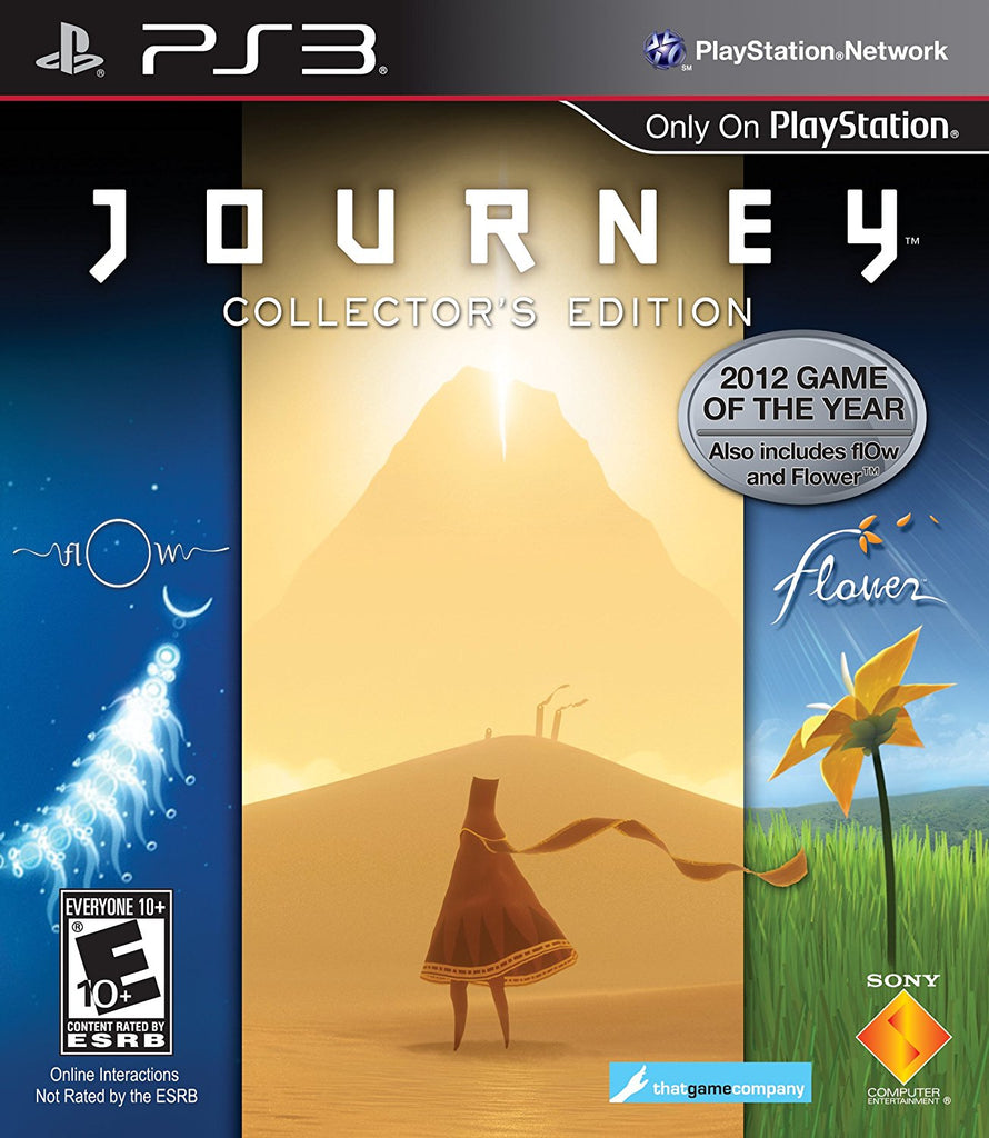 Journey Compilation (Flower/Flow/Journey) - Playstation 3 (Complete in Box)