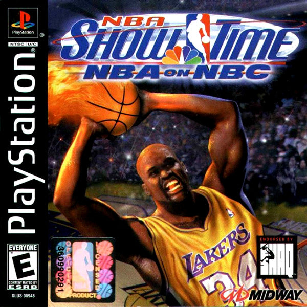 NBA Showtime NBA on NBC - Playstation (Complete in Box)