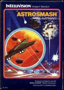 Astrosmash - Intellivision (Complete in Box)