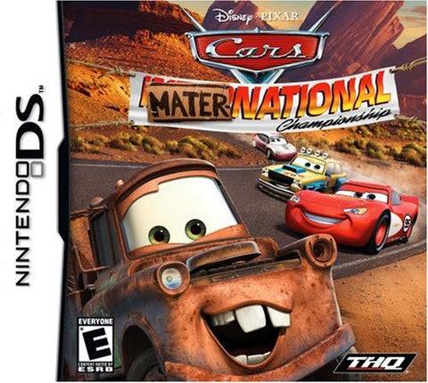 Cars Mater-National Championship - Nintendo DS (Game Only)