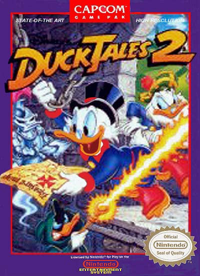 Duck Tales 2 - NES (Game Only)