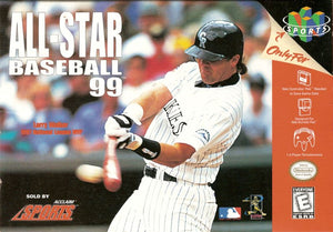 All-Star Baseball 99 - Nintendo 64 (Complete in Box)