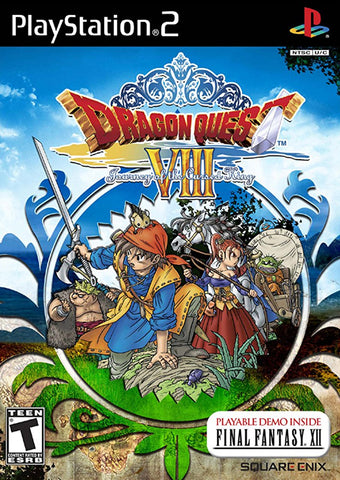 Dragon Quest VIII: Journey of the Cursed King - Playstation 2
