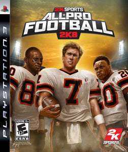 All Pro Football 2K8 - Playstation 3 (Game Only)