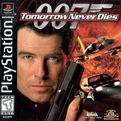 007 Tomorrow Never Dies - Playstation  (Complete in Box)
